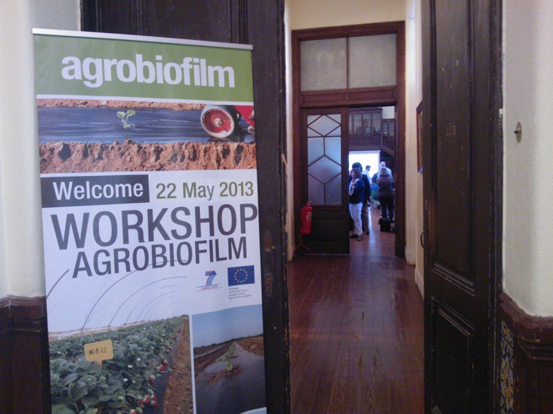 Workshop AgroBiofilm Lisboa - Instituto Superior Agricultura